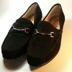 Sam Edelman Women 8M TALIA  Loafers Black